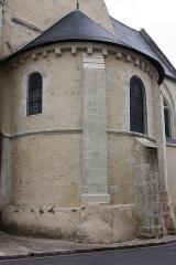 Eglise Saint-Vincent - Français:   Neuvy-le-Roi - Eglise Saint-Vincent L\'anside romane