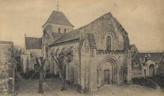 Eglise paroissiale Saint-Pierre - église Saint-Pierre Parçay-sur-Vienne.