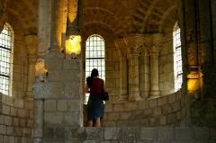 Ancien prieuré de Saint-Cosme -  Delphine au PrieurÈ de Saint Cosme prÈs de Tours.