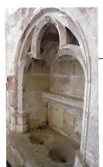 Ancienne église Notre-Dame - Ido: Piscine liturgique