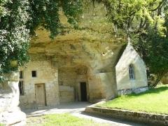 Chapelle et logis troglodytiques de Notre-Dame-de-Lorette -  NOTRE DAME DE LORETTE à Saint-Epain