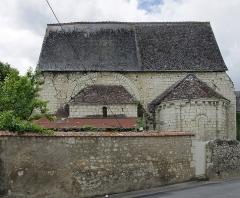 Ancienne chapelle priorale Saint-Mesmin - English: Chapelle du prieuré de Saint-Mesmin, à Sainte-Maure-de-Touraine (Indre-et-Loire)