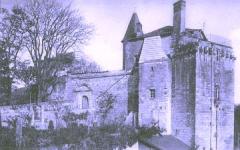 Ancien château - English: Castle of Sainte-Maure