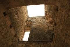 Ancien château - Français:   Château de Sainte-Maure-de-Touraine 3