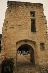 Ancien château - Français:   Château de Sainte-Maure-de-Touraine 5