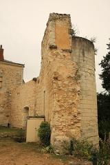 Ancien château - Français:   Château de Sainte-Maure-de-Touraine 7
