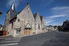 Eglise paroissiale Saint-Paterne - Français:   Découvrez Saint-Paterne-Racan