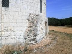Chapelle Saint-Jean-du-Liget - Français:   Détail de la porte sud de la chapelle.