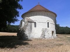 Chapelle Saint-Jean-du-Liget - Français:   Vue sud-ouest de la chapelle.