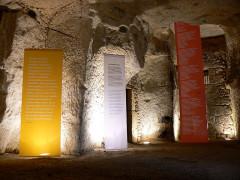 Maison de Rabelais, actuellement Musée de la Devinière - Français:   Vue des grandes caves