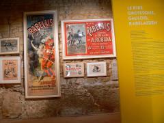 Maison de Rabelais, actuellement Musée de la Devinière - English:   Vue des collections iconographiques