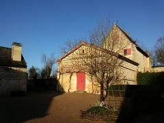 Maison de Rabelais, actuellement Musée de la Devinière - Français:   La Devinière, Musée Rabelais, Seuilly