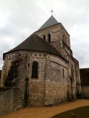 Eglise paroissiale Saint-Martin - Français:   Chœur de l\'église Saint-Martin de Sublaines