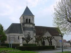 Eglise paroissiale Saint-Martin - English: Church Saint-Martin of Sublaines (France, département of Indre-et-Loire)