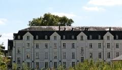 Ancienne abbaye de Marmoutier -  Sainte-Radegonde (Tours, Indre-et-Loire, France), ancienne abbaye de Marmoutier.