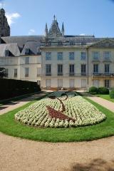 Ancien archevêché, actuellement musée des Beaux-Arts -  Jardin du musée des Beaux-Arts, Tours, Indre-et-Loire, France