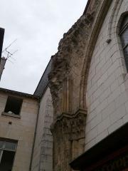 Ancienne église Saint-Pierre-le-Puellier - Français:   église Saint-Pierre le Puellier (Tours) féce est détail