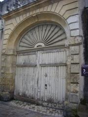 Ancienne maison canoniale de Saint-Martin - Français:   Maison canoniale de Saint-Martin, 6 rue Rapin, à Tours (Indre-et-Loire, France)