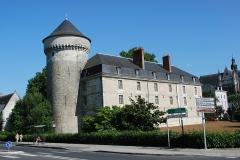 Ancien palais des Gouverneurs -  Château de Tours, Tours, Indre-et-Loire, France
