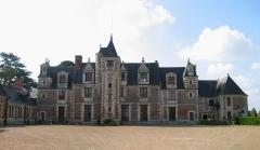 Château de Jallanges - Deutsch: Hauptgebäude des Schlosses Jallanges in Vernou-sur-Brenne