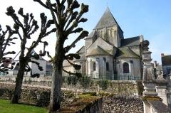 Eglise paroissiale Saint-Etienne -  Les châteaux de la Loire.