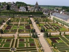 Eglise paroissiale Saint-Etienne - Deutsch: Schloss Villandry, Gemüsegarten