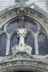 Eglise paroissiale Notre-Dame - Français:   Vierge à l\'Enfant de l\'église Notre-Dame de La Ville-aux-Dames
