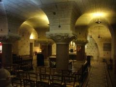 Basilique Saint-Martin - Crypte de la basilique Saint-Martin de Tours (Indre-et-Loire, France)