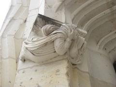 Château de Blois - Présente sur la façade de l'aile Louis XII (Renaissance)