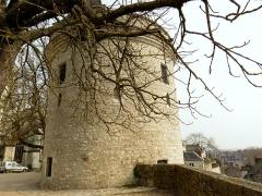 Ensemble des fortifications de la ville -  Les châteaux de la Loire.