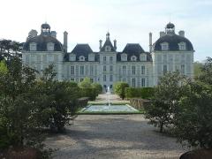 Château de Cheverny - Cheverny et fontaine