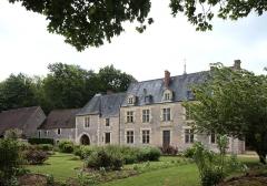 Château de la Possonnière, dit aussi Château de Ronsard - Deutsch: Schloss La Possonnière im Département Loir-et-Cher/Frankreich - Rückseite.