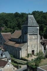 Eglise Saint-Genest -   France Loir-et-Cher Lavardin L\'Eglise Saint-Genest  Photographie prise par GIRAUD Patrick
