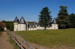 Château du Gué-Péan -  Le château du Gué Péan. Monthou sur Cher.
