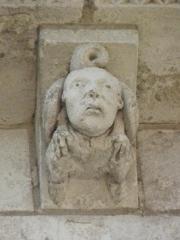Eglise Saint-Aignan (ancienne collégiale) - Modillon de la collégiale Saint-Aignan de Saint-Aignan (41).