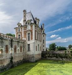 Château - English: Castle of Selles-sur-Cher, Loir-et-Cher, France