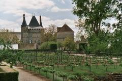 Domaine du château de Talcy - Deutsch: Garten des Schlosses Talcy (Loir-et-Cher)