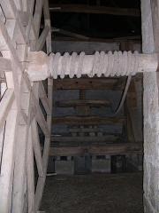 Domaine du château de Talcy - Deutsch: Alte Weinpresse im Schloss Talcy (Loir-et-Cher)