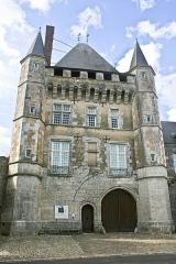 Domaine du château de Talcy - Français:   Château de Talcy (Loir-et-Cher), façade