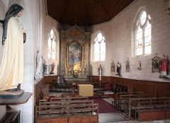 Eglise Saint-Martin - English: Village of Talcy, located in the departement Loir et Cher/France - church Saint-Martin close to the castle, interior