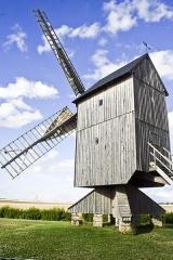 Moulin à vent - Français:   Moulin à vent de Talcy (Loir-et-Cher)