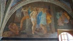 Château de Villesavin - English: Fresco of Niccolo dell'Abbatte from Vilesavin castle chappel