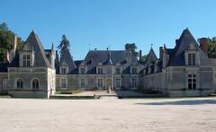Château de Villesavin - Deutsch: Schloss Villesavin Nordwestseite