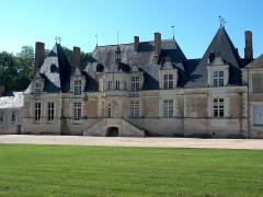 Château de Villesavin - Deutsch: Schloss Villesavin Ostseite