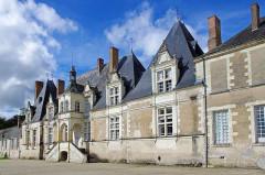 Château de Villesavin - Deutsch: Gartenseite des Schlosses Villesavin