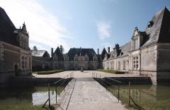 Château de Villesavin - Deutsch: Schloss Villesavin, Département Loir-et-Cher/Frankreich - Hofansicht