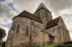 Eglise Saint-Martin£ - English: The church Saint-Martin in Trôo.