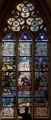 Ancienne abbaye de la Trinité - Vitraux de l'église de l'abbaye de la Trinité à Vendôme, en Loir-et-Cher (France)