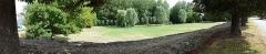 Voie gallo-romaine dite voie de Jules César ou chemin de Chartres (également sur communes de Sémerville, Membrolles et La Colombe) - English: The Roman road and the park of Verdes, Loir-et-Cher, France.
