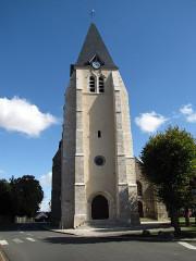 Eglise Notre-Dame - English: Bazoches-les-Gallerandes Church